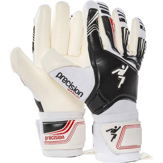 Precision keepershandschoenen Gaelic junior EVA wit/zwart