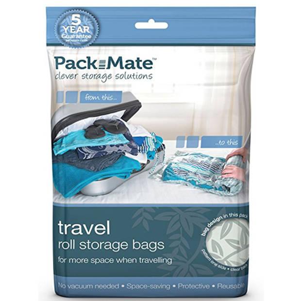 Travel Vacuum Opbergzakken 4-delig Packmate