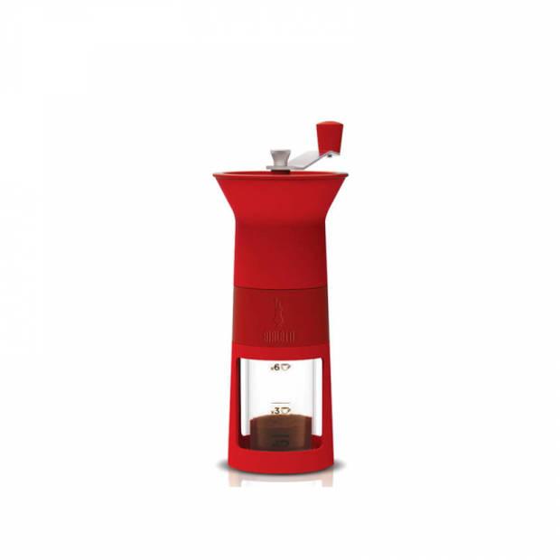 BialettiHandmatige koffiebonen maler rood