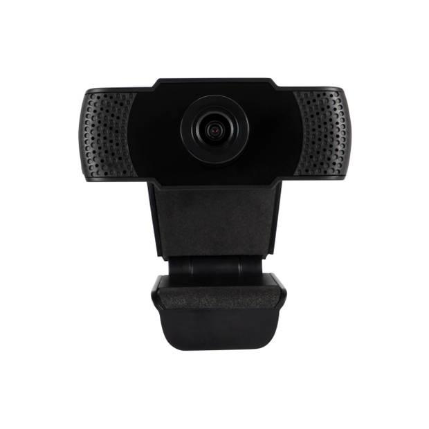 Silvergear HD Webcam 1080P - Ingebouwde Microfoon - Voor Computers en Laptops - Windows en Apple