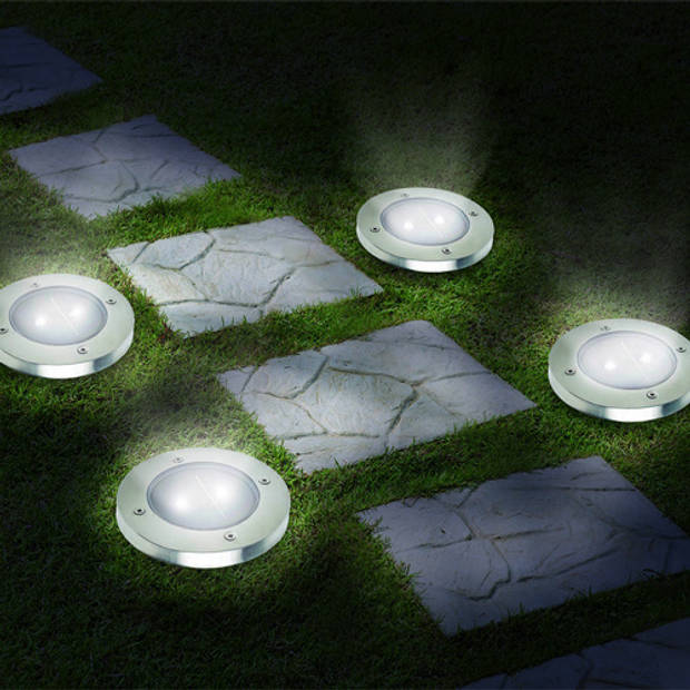 Tuinlampen Solar - 4 stuks E7864 Ideaworks
