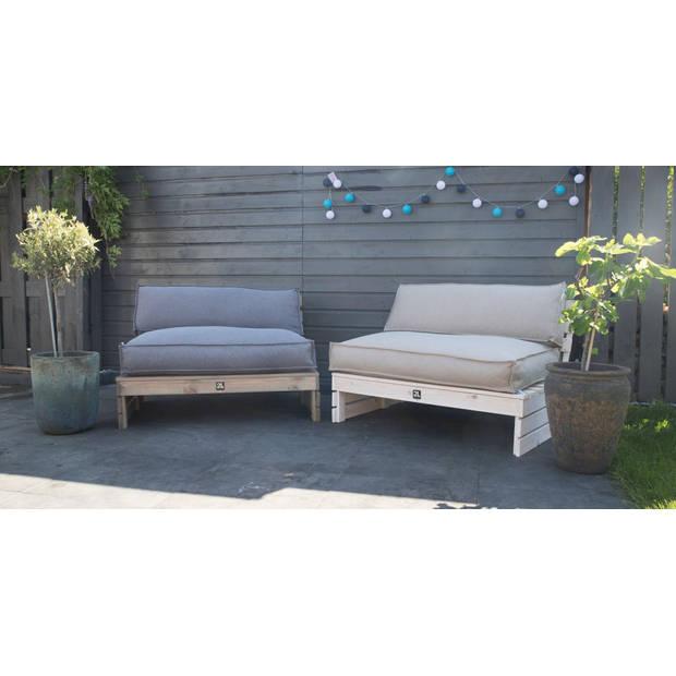 2L Home & Garden Palletbank Whitewash - Wit