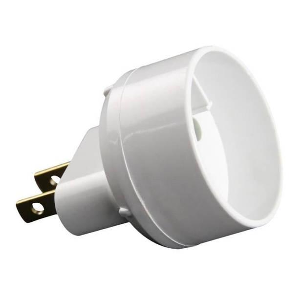 ZENITECH Euro-adapter naar VS wit