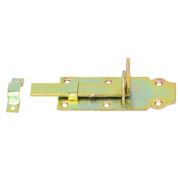 Deur schuifslot verzinkt - 12 cm - Deurbeveiliging