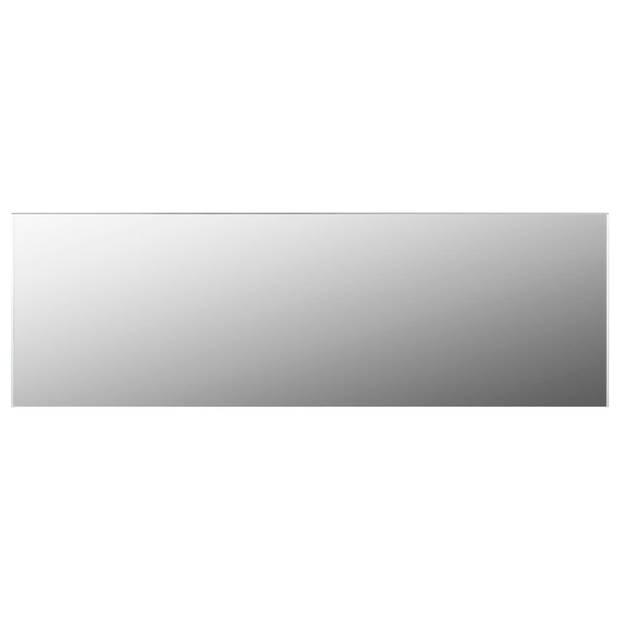 vidaXL Spiegel frameloos 120x30 cm glas