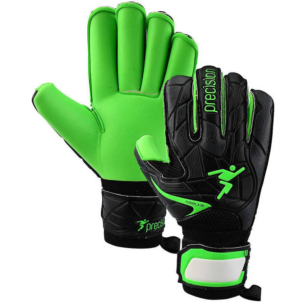Precision keepershandschoenen Fusion_X.3D zwart/groen