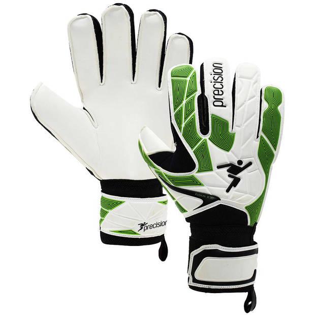 Precision keepershandschoenen Fusion_X.3D Junior wit/groen