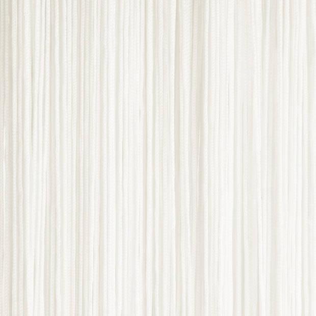 Vliegengordijn/deurgordijn off white 100 x 250 cm - Insectenwerende vliegengordijnen