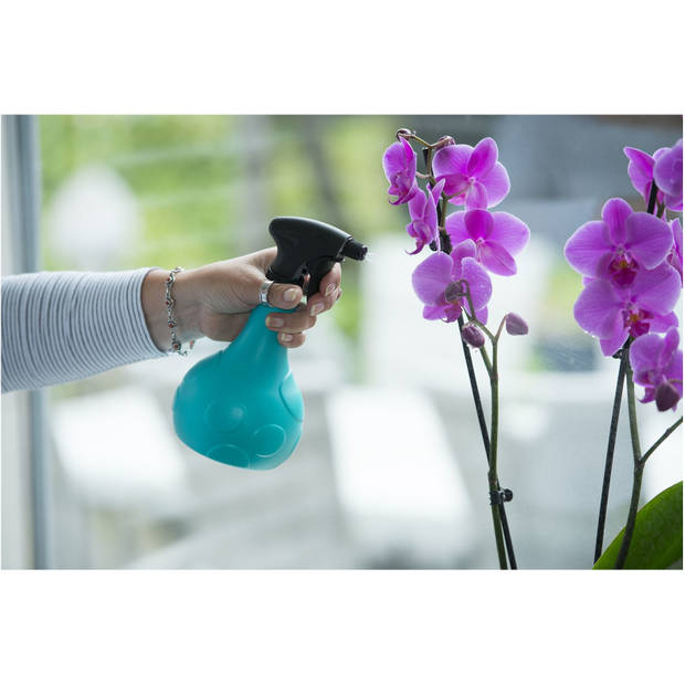 Turquoise / blauwe plantenspuit 700 ml - Tuinbenodigdheden - Waterverstuiver - Plantensproeiers/plantenspuiten