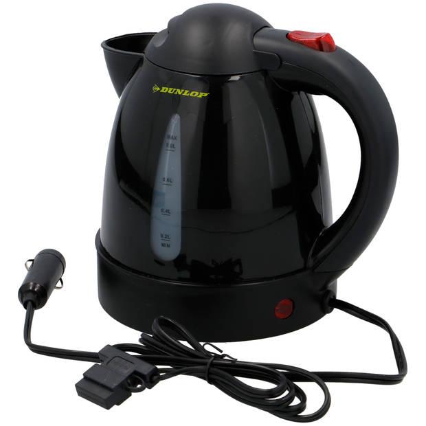 DUNLOP - reiswaterkoker - 0,8liter - 12V - voor de auto