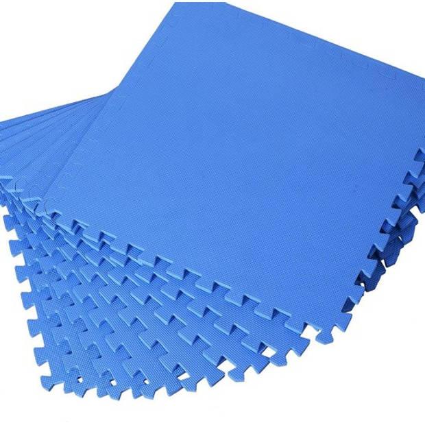 XXL Vloertegel Mat - Beschermende Mat Voor Kids / Fitness / Pilates / Fitness- EVA Foam Speeltaptijt Puzzelmat