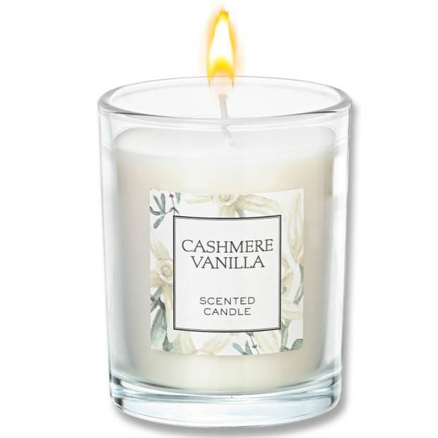 Blokker geurkaars - Cashmere Vanille - groot
