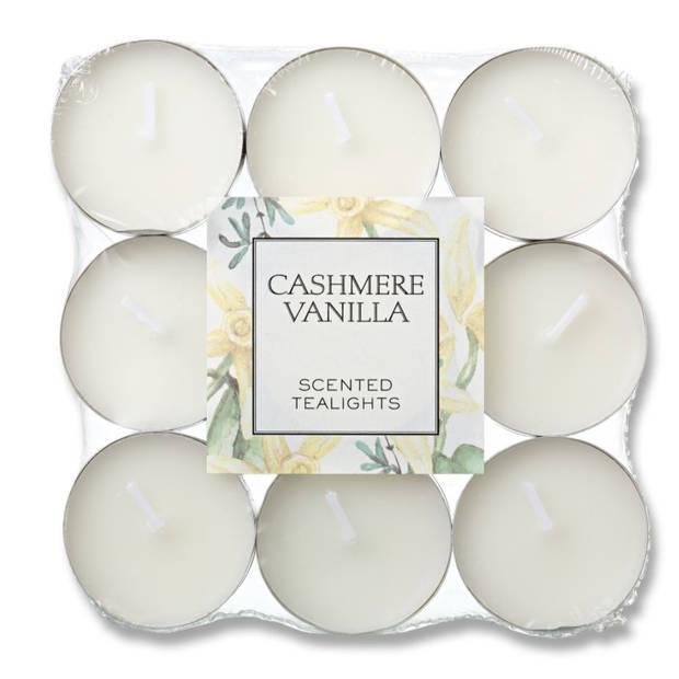 Blokker geurtheelichten - Cashmere Vanilla - 18 stuks
