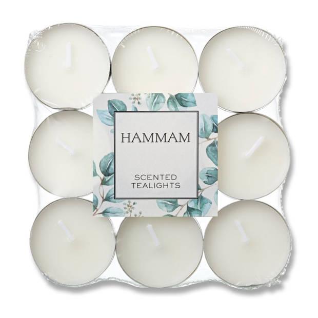 Blokker geurtheelichten - Hammam - 18 stuks