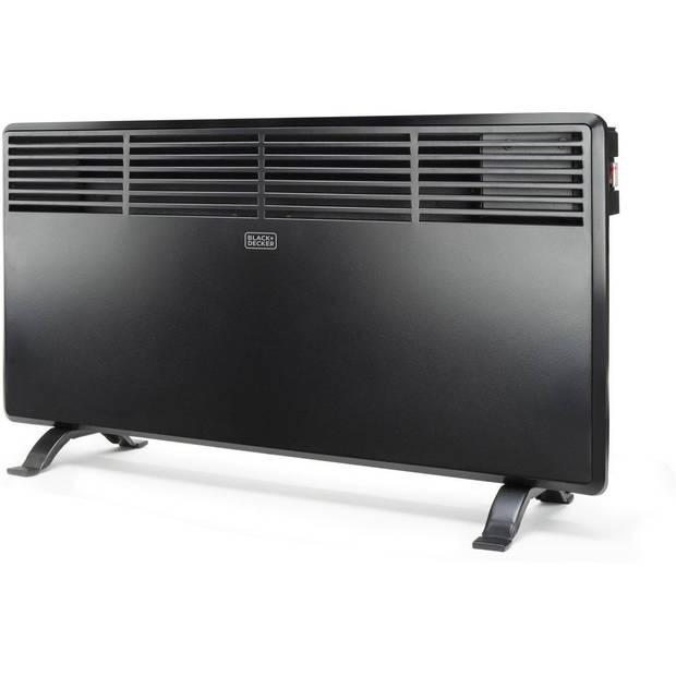 BLACK+DECKER Elektrische Kachel BXCSH1800E - 1800W - Badkamerverwarming - ook voor aan de Muur
