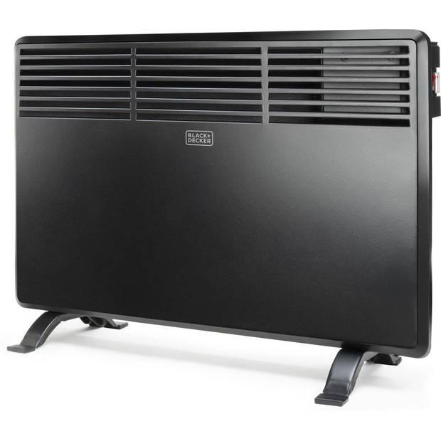 BLACK+DECKER Elektrische Kachel BXCSH1200E - 1200W - Badkamerverwarming - IP24 - Convector