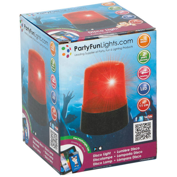 Party Fun Lights Zwaailicht - Brandweer