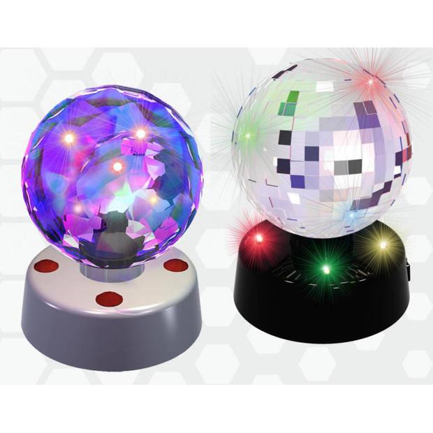 PartyFunLights Discobol met ingebouwde LED-lampjes