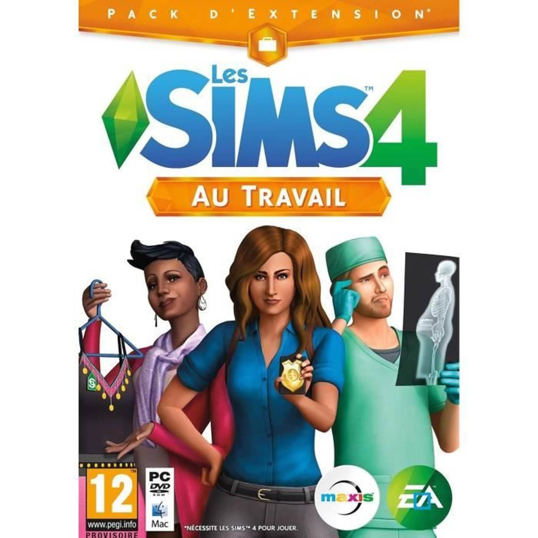 Les Sims 4, Au Travail (add-on) (dvd-rom)