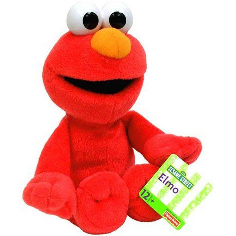 Pluchen Sesamstraat Fisher-price Elmo 24 Cm