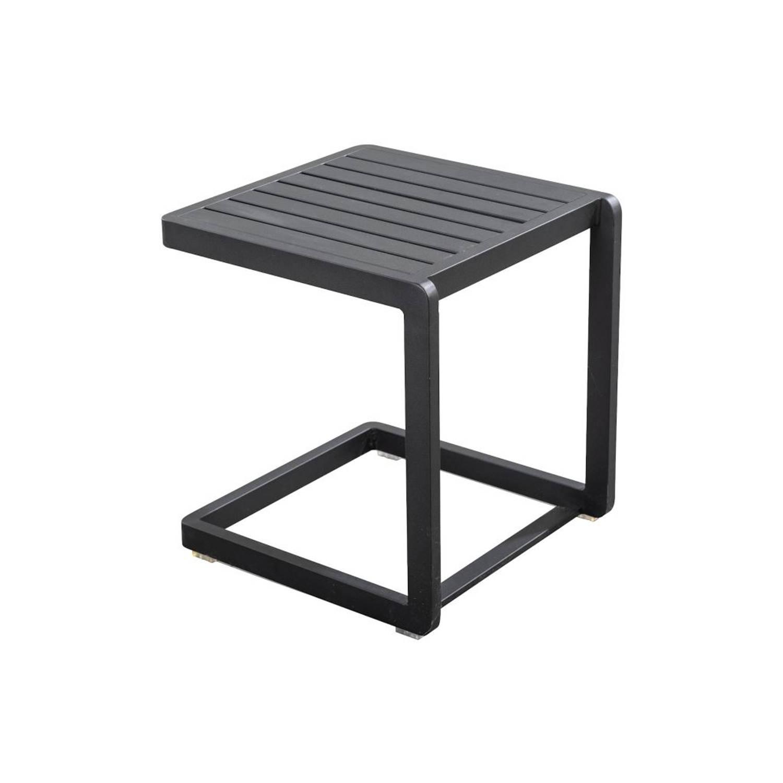Yoi Bijzettafel Hokan Black 40 x 40 cm