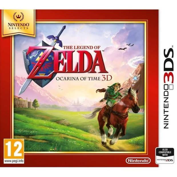 The Legend of Zelda Ocarina of Time Selecteer Jeu 3DS