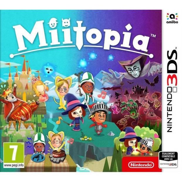 Miitopia Game 3DS