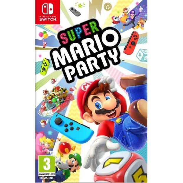 Super Mario Party Game-schakelaar