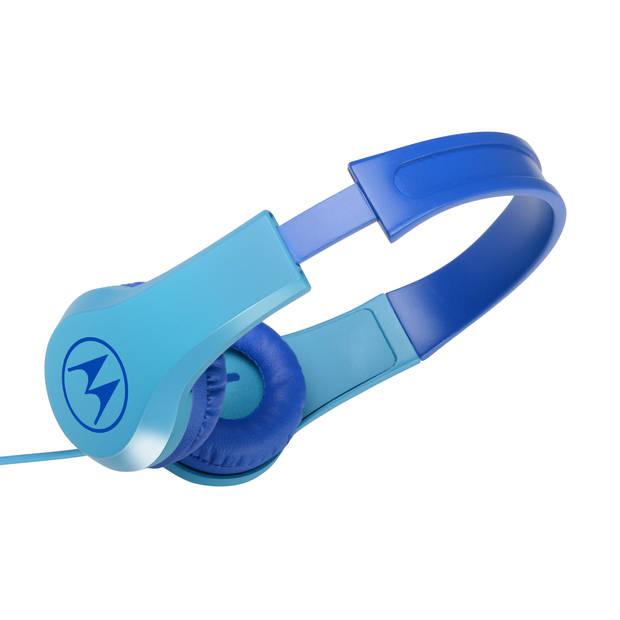 Motorola Squads 200 hoofdtelefoon - speciaal voor kinderen - blauw