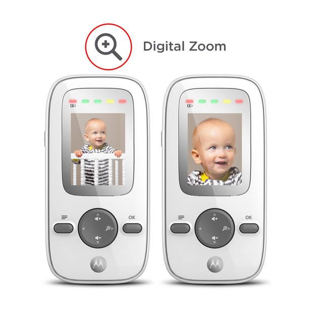 Motorola MBP481 babyfoon - camera - kleurenscherm - nachtzicht - ruim bereik