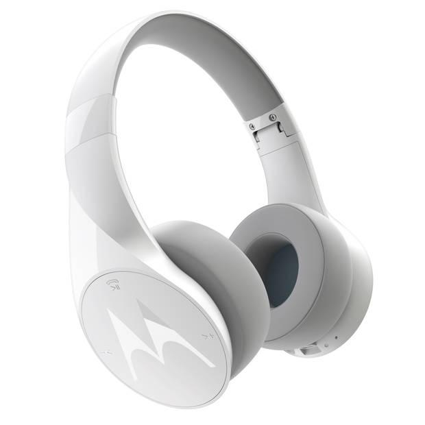 Motorola Pulse Escape Koptelefoon - Draadloos - Microfoon - Waterresistent - Wit