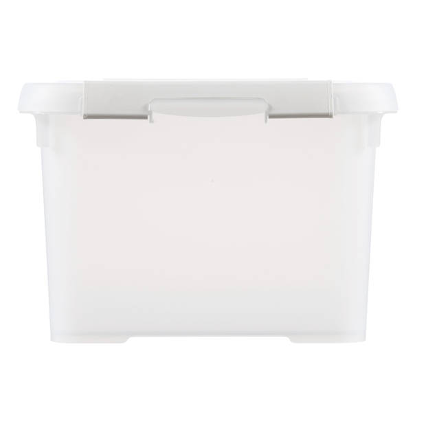 Curver Handy+ Recycled Opbergbox - 15L - Milky wit