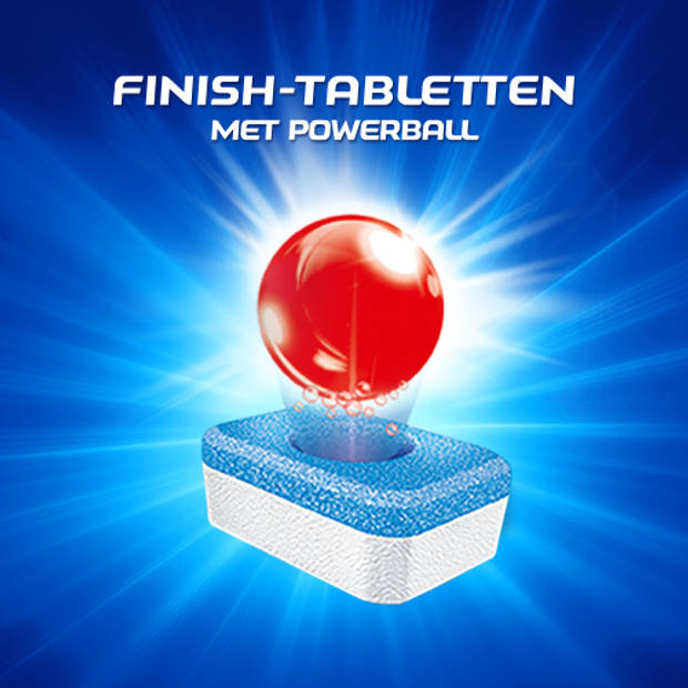 Finish All in 1 Max Normaal Vaatwastabletten - 85 Stuks