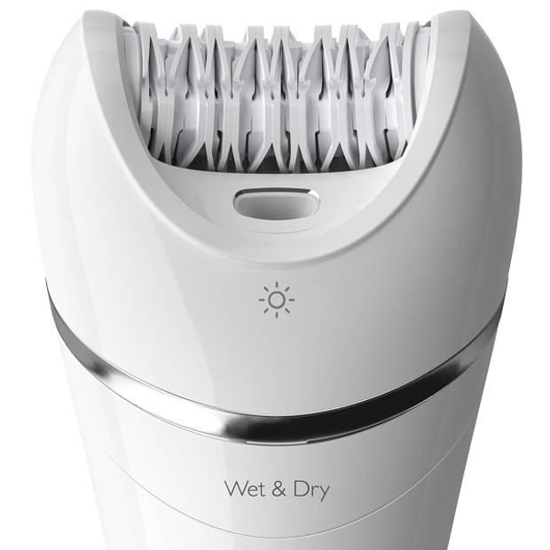 Philips epilator Wet & Dry BRE700/00 - wit