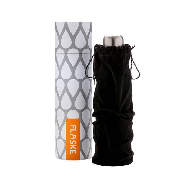 FLASKE - Bottle - 500ML/Zwart/RVS/29