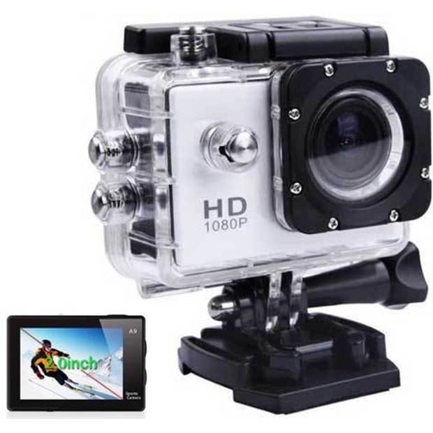 Sports FULL HD Camera DV (waterresistant) 1080p Actioncam + Accessoires