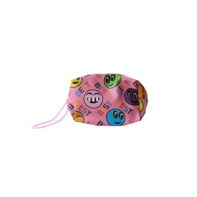 Korting Lg imports Portemonnee Smiley 11 Cm Junior Roze