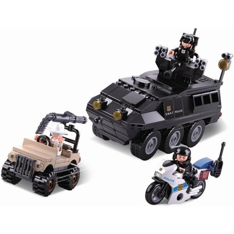 Sluban pantservoertuig Me junior 28.5 cm ABS zwart 310-delig
