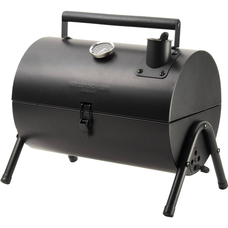 Gusta Smokerbarbecue - Zwart