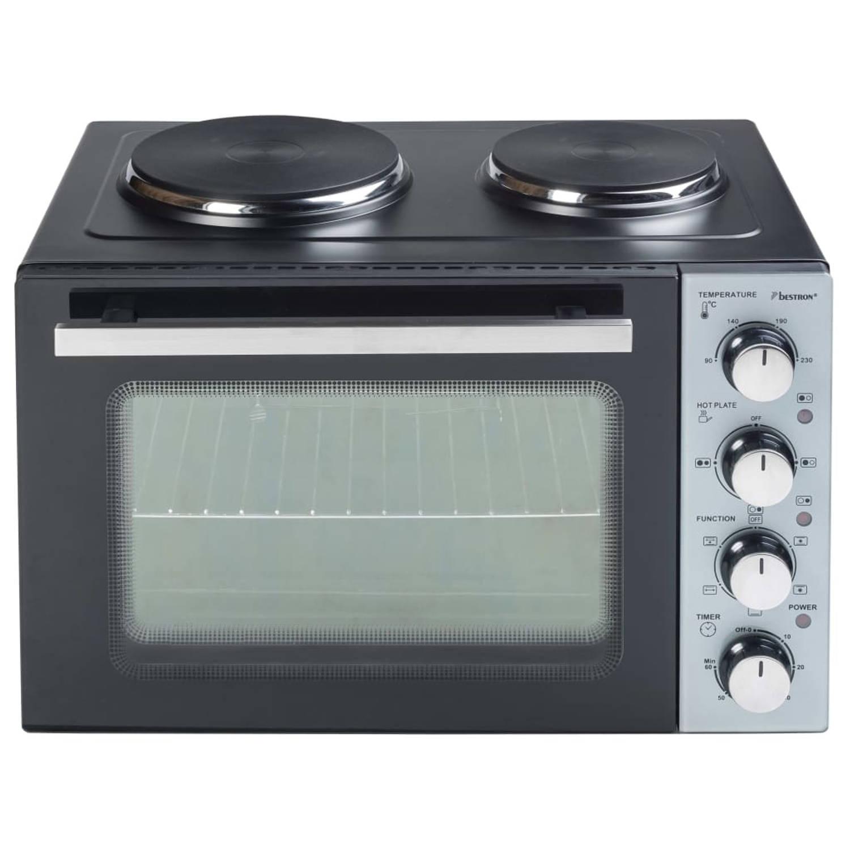 Bestron Ovengrill met twee kookplaten Crispy & Co AOV31CP 3200 W 31L