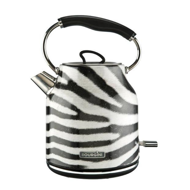 Bourgini waterkoker Zebra - 1,7 liter