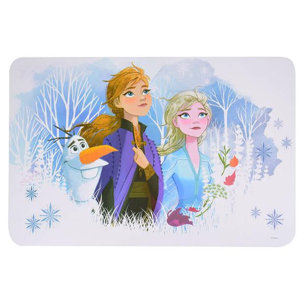 Disney Frozen placemat meisjes 28 x 43 cm multicolor