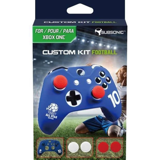 Voetbal 2018 siliconen beschermhoes voor Xbox One-controller, Xbox One X