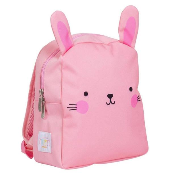 A Little Lovely Company rugzak Konijn meisjes 5,5 liter polyester roze