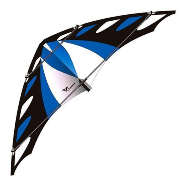 Elliot vlieger X-Dream Blue 180 x 65 cm nylon blauw