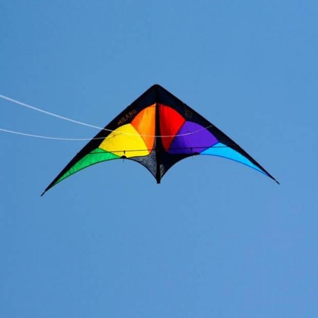 Elliot vlieger Milano Rainbow 170 x 80 cm nylon/carbon
