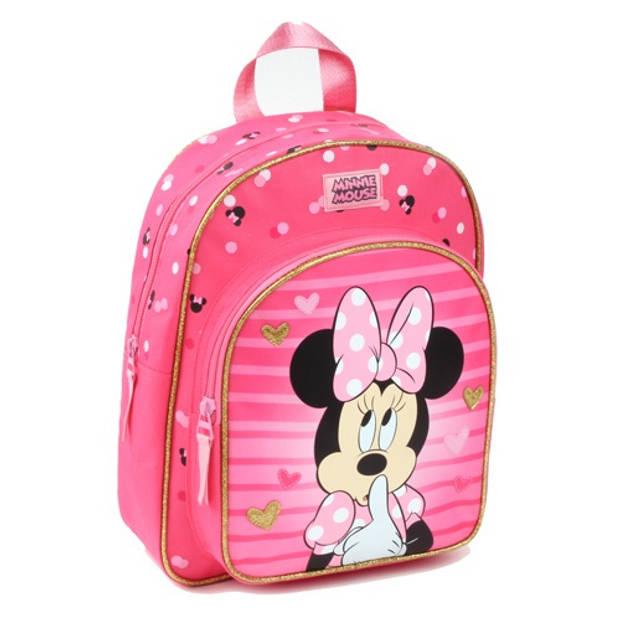 Disney rugzak Minnie Mouse junior 7 liter polyester roze