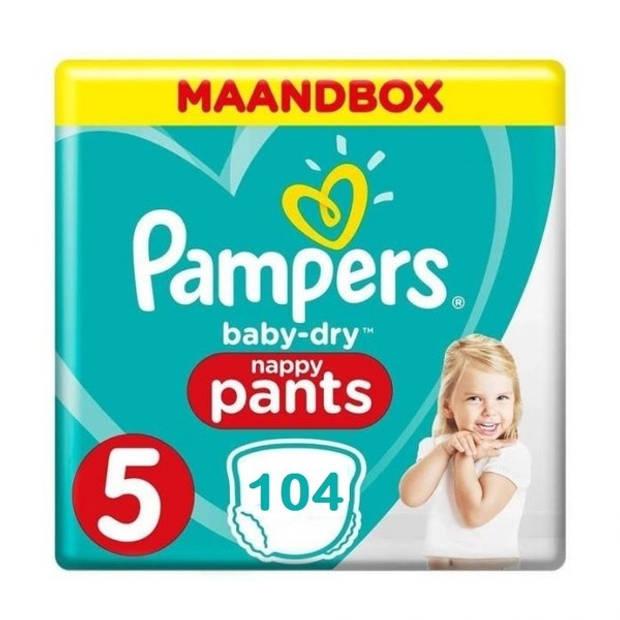 Pampers Baby Dry Pants Maat 5 - 104 Luierbroekjes