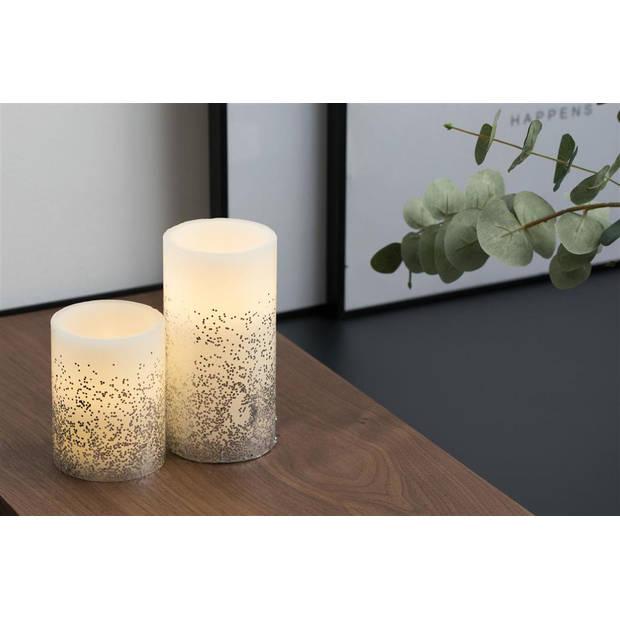 Pauleen Glowing Glitter - Wax LED Kaarsen - Set van 2