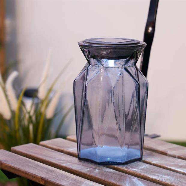 Pauleen Sunshine Spirit Solar Lantaarn - Glas - Grijs - Ø11,5cm
